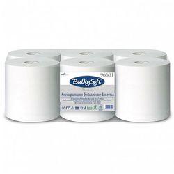 Ręcznik papierowy w roli Bulkysoft Premium 2 warstwy 150 m biały celuloza, 96601
