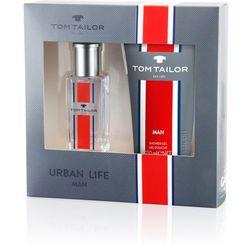 urban life for man, zestaw podarunkowy, woda toaletowa 30ml + żel pod prysznic 150ml marki Tom tailor