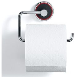 Wieszak na papier toaletowy Rode Bath Mafalda czarny, 10009-01