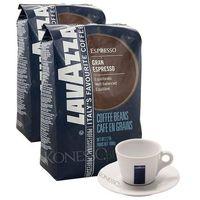 ZESTAW - Kawa Lavazza Grand Espresso 2x1kg + Filiżanka Lavazza - sprawdź w wybranym sklepie