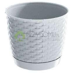 Doniczka Ratolla Round DRLO220 biała z kategorii Doniczki i podstawki