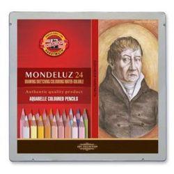Kredki akwarelowe Mondeluz Koh-I-Noor - 24 kol. - Portrety z kategorii Kredki akwarelowe