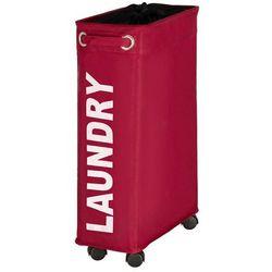 Kosz na pranie CORNO, pojemnik 43 l - kolor czerwony, WENKO (4008838345146)