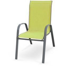 Krzesło ogrodowe HALMAR MOSLER zielony, V-CH-MOSLER-KR-ZIELONY
