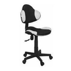 Fotel q-g2 czarno-biały - zadzwoń i złap rabat do -10%! telefon: 601-892-200 marki Signal meble