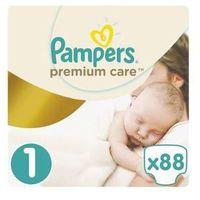 Pampers Pieluszki  premium care newborn rozmiar 1, 88 szt.