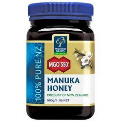 Miód manuka 550 mgo 500g, marki Manuka health, nowa zelandia