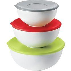 Pojemniki kuchenne kitchen active design 3 szt. kolorowe (8008392257004)