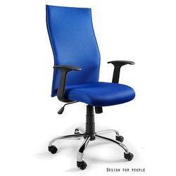 Biurowe krzesło obrotowe black on black kolor marki Unique