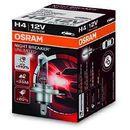 h4 12v 60/55w p43t night breaker® unlimited (do +110% więcej światła, do 35m-40m dłuższy zasięg,do +20% bielsze światło) marki Osram