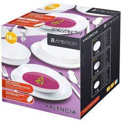 Komplet obiadowy Valencia 18 elem. (śr. 260)