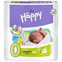 Pieluszki dla wcześniaków happy before newborn (0) do 2 kg - 46 szt. marki Tzmo s.a.