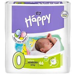 Pieluszki dla wcześniaków Happy Before Newborn (0) do 2 kg - 46 szt.