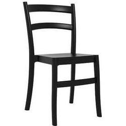 Krzesło ogrodowe do ogrodu restauracji Tiffany czarne, towar z kategorii: Krzesła ogrodowe