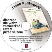 """Książka """"Razem czy osobno"""" i DVD Jacka Pulikowskiego. (Jacek Pulikowski)"""