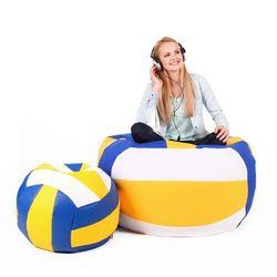 Pufa, Volleyball - piłka - zestaw XXXL+L, Polskie Pufy
