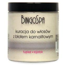 BINGOSPA Kuracja do włosów z błotem karnalitowym 250 g