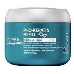 Loreal Pro Keratin Refill, maska keratynowa, 200ml z kategorii Odżywianie włosów