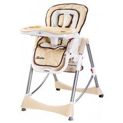 Caretero Bistro rozkładane krzesełko do karmienian Cappuccino