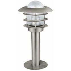 Eglo Słupek lampa stojąca mouna 30182 zewnętrzna oprawa ogrodowa ip44 outdoor stal przezroczysta (9002759301828)