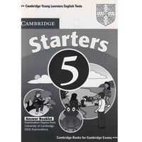 Cambridge Young Learners English Tests Second Edition Starters 5 Answer Booklet (9780521693257)