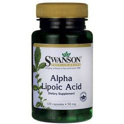 Ala (kwas alfa liponowy) 50mg 120kaps wyprodukowany przez Swanson