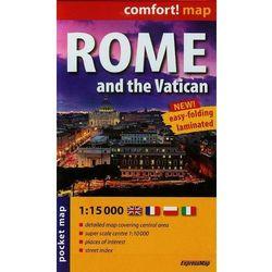 Rzym i Watykan mapa laminowana 1:15 000 Expressmap (ExpressMap)