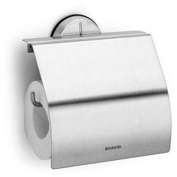 Uchwyt na papier toaletowy Brabantia PROFILE stal matowa (8710755427626)