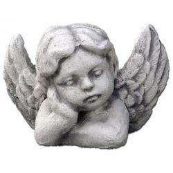 Figura ogrodowa betonowa aniołek 10cm
