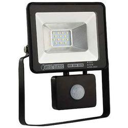 Zewnętrzna LAMPA ścienna PUMA/S LED 10W 6500K 02957 Ideus elewacyjna OPRAWA reflektorowa z czujnikiem ruchu