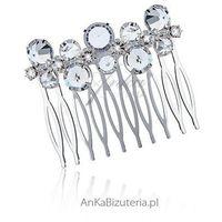 Anka biżuteria Grzebień do włosów z kryształkami - bardzo modny w tym sezonie.