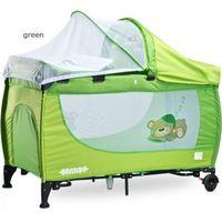 Łóżeczko Caretero Grande New Green (5902021526239)