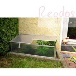 Mini szklarnia ogrodowa - szklarenka przydomowa - 108x55x41cm - balkonowa, towar z kategorii: Szklarnie