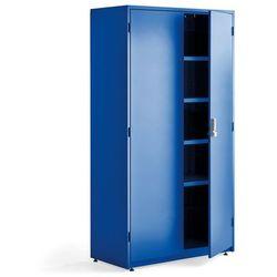 Aj produkty Szafa narzędziowa z zamkiem elektronicznym, 1900x1020x500 mm, niebieski