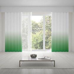 Zasłona okienna na wymiar - DARK GREEN - KOLOR 150 CM