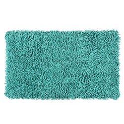 Dywanik łazienkowy Mia turkusowy, 45 x 75 cm