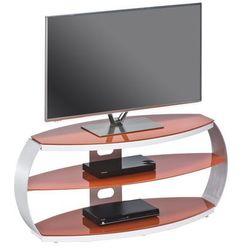 Stolik pod telewizor METAL ALU, rtv, 122 cm, pastelowy czerwony 16339407
