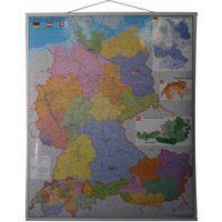 Niemcy Austria Szwajcaria mapa ścienna 1:900 000 Stiefel