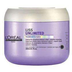 L'oreal Expert Liss Unlimited Maska Wygładzająca 200 ml - L'oreal Expert Liss Unlimited Maska Wygładzająca