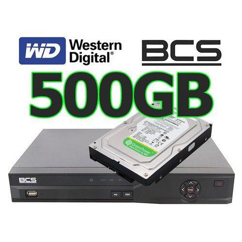 Rejestrator cyfrowy hybrydowy Analogowy IP Sieciowy BCS-DVR0401QE-III +dysk 500GB, kup u jednego z partnerów