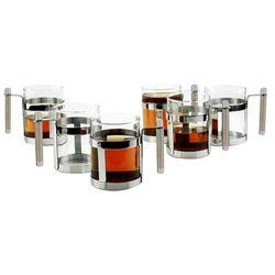 REGENT PERLE Szklanki do kawy i herbaty 300 ml 6 sztuk