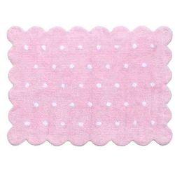 Dywan do prania w pralce Galleta Pink z kategorii Dywany dla dzieci