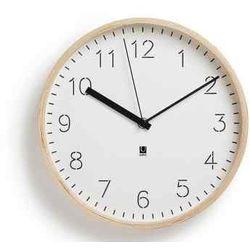 Umbra Zegar rimwood biały/naturalny