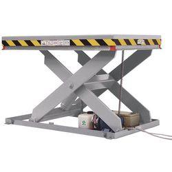 Nożycowy stół podnośny, nośność 500 kg, platforma: dł. x szer. 1250x800 mm. Różn