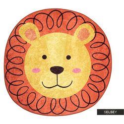 dywan do pokoju dziecięcego dinkley lew średnica 140 cm marki Selsey