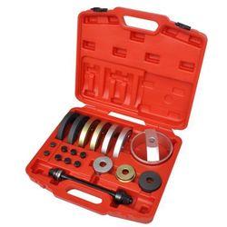 vidaXL 19 elementowy zestaw narzędzi do łożysk piast 62 mm, 66 72 mm (8718475940142)