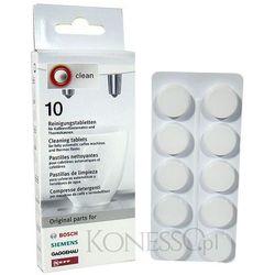 Tabletki czyszczące Bosch/Siemens 310575 - 10 sztuk z kategorii Akcesoria do ekspresów do kawy