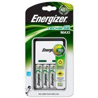 ładowarka Energizer Maxi + 4 x R6/AA 2300 mAh Extreme z kategorii Ładowarki do akumulatorów