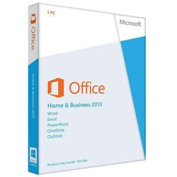 office home and business 2013 32-bit/x64 polish eurozone medialess (t5d-01753) od producenta Microsoft