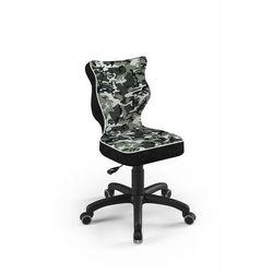 Krzesło dziecięce na wzrost 133-159cm petit black st33 rozmiar 4 marki Entelo
